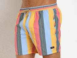 Hugo Boss Salmon Swim Shorts Rainbow