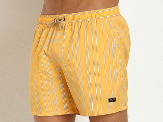 Hugo Boss Salmon Swim Shorts Yellow