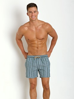 Hugo Boss Salmon Swim Shorts Green