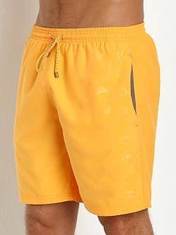 Hugo Boss Orca Swim Shorts Orange