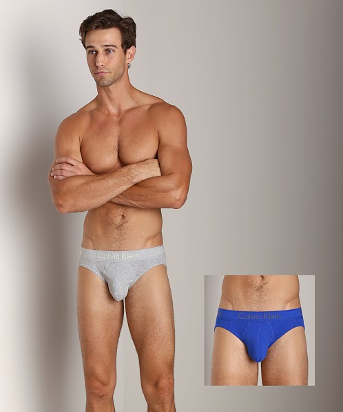 Calvin Klein Body 2-Pack Hip Brief Grey/Marine