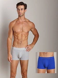 Calvin Klein Body 2-Pack Trunk Grey/Marine