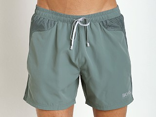 Hugo Boss Whalefish Swim Shorts Green