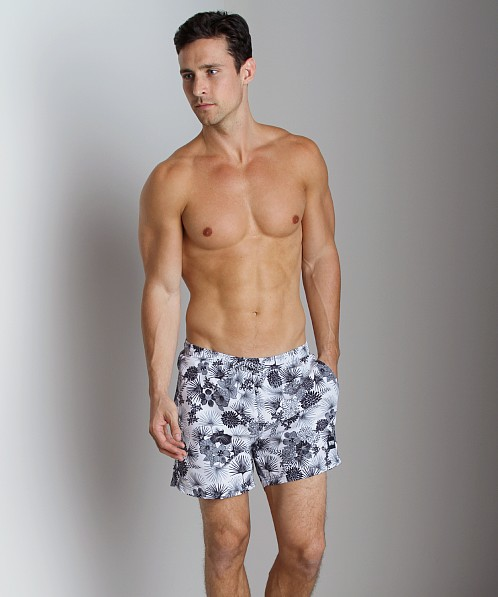 Hugo Boss Piranha Swim Shorts White