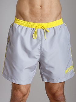 Hugo Boss Starfish Swim Shorts Grey