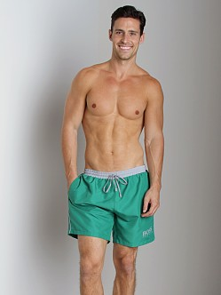 Hugo Boss Starfish Swim Shorts Green