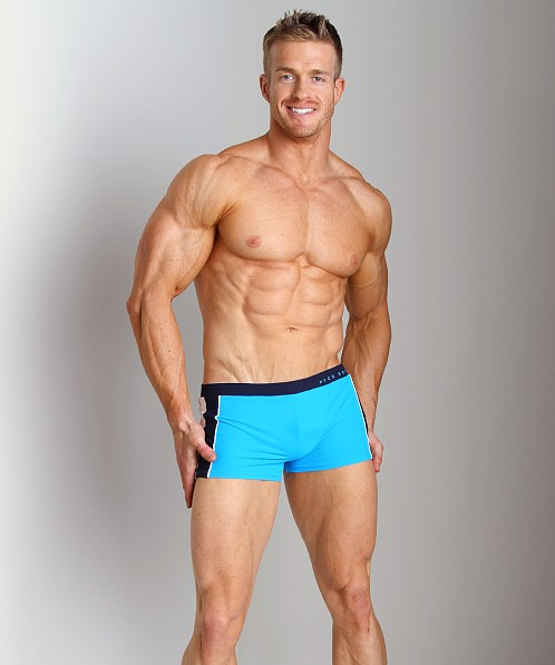 Hugo Boss Lanternfish Swim Trunk Turquoise