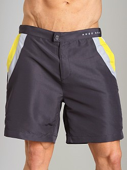 Hugo Boss Rainbowfish Swim Shorts Dark Grey
