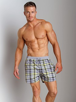 Hugo Boss Catshark Swim Shorts Grey