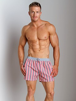 Hugo Boss Goldeye Swim Shorts Red