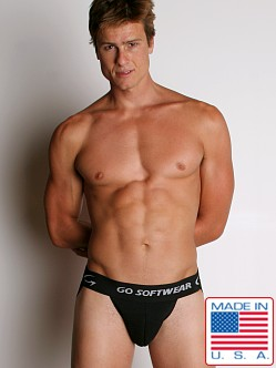 Go Softwear Super Padded Jock Black