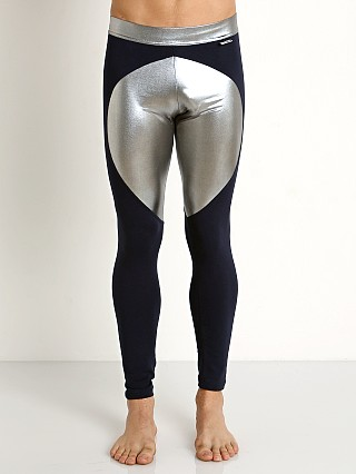 Modus Vivendi Dusk 2 Dawn Tights Navy/Silver Foil