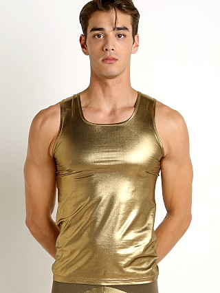 Complete the look: Modus Vivendi Dusk 2 Dawn Tank Top Gold Foil