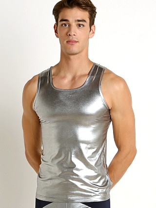 Complete the look: Modus Vivendi Dusk 2 Dawn Tank Top Silver Foil