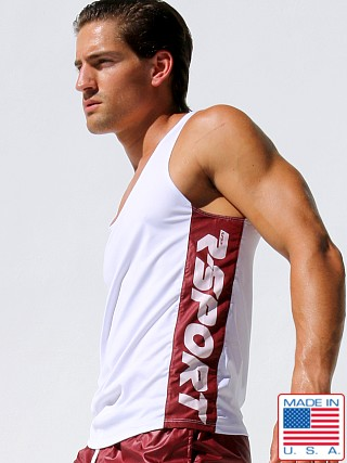 Rufskin Comet Side Panel Tank Top White