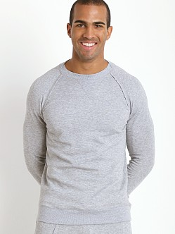 2xist Active Organic Terry Pullover Sweatshirt Light Grey