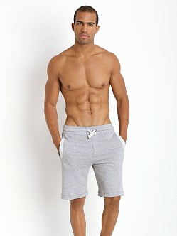 2xist Active Organic Terry Short Light Grey Heather