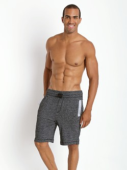 2xist Active Organic Terry Short Black Heather