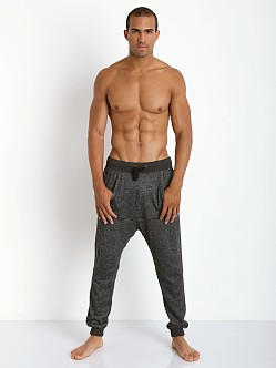 2xist Active Organic Terry Harem Pant Black Heather