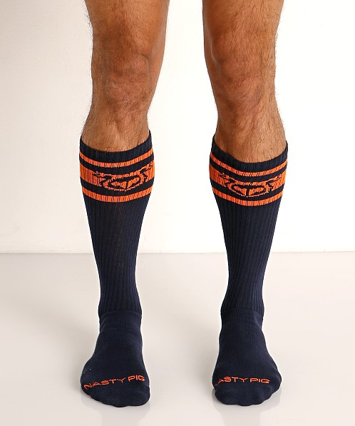 Nasty Pig Hook'd Up Sport Socks Navy Blazer