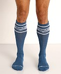 Nasty Pig Hook'd Up Sport Socks Stellar Blue, view 2