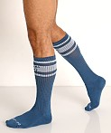 Nasty Pig Hook'd Up Sport Socks Stellar Blue, view 3