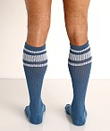 Nasty Pig Hook'd Up Sport Socks Stellar Blue, view 4