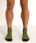 Nasty Pig Flasher Socks 2-Pack Green/Blue, view 2
