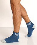 Nasty Pig Flasher Socks 2-Pack Green/Blue, view 3