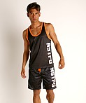 Nasty Pig Momentum Mesh Tank Top Black, view 1
