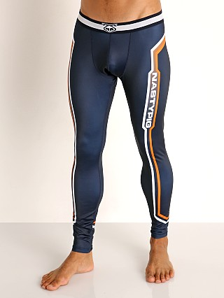 Nasty Pig Collider Tights Navy/Orange