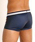 Nasty Pig Collider Trunk Short Navy/Orange, view 4
