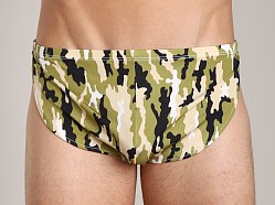 Cover Male Running Short Camo