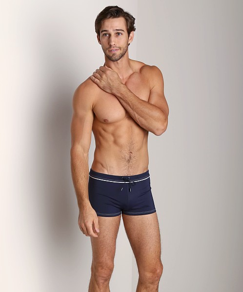 GrigioPerla Nero Perla Cruise Swim Trunk Navy