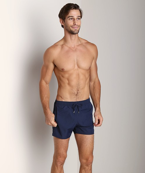 GrigioPerla Nero Perla Cruise Swim Shorts Navy