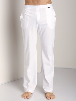 GrigioPerla Studio LP Lounge Pants White