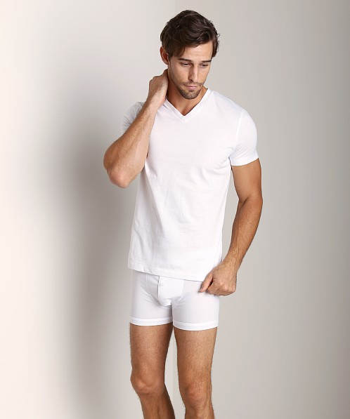 GrigioPerla Studio LP Maglia Scollo V-Neck Shirt White