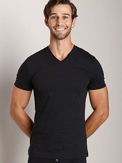 GrigioPerla Studio LP Maglia Scollo V-Neck Shirt Black