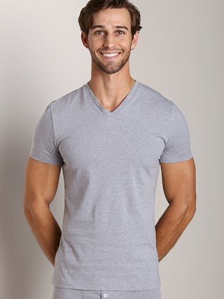 Complete the look: GrigioPerla Studio LP Maglia Scollo V-Neck Shirt Grey