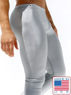Rufskin Pow! Running Tights Silver