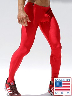 Rufskin Pow! Running Tights Red