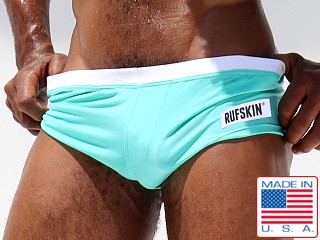 Rufskin ITY Fresco Stretch Boxer Brief Mint