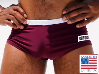 Rufskin ITY Fresco Stretch Boxer Brief Eggplant