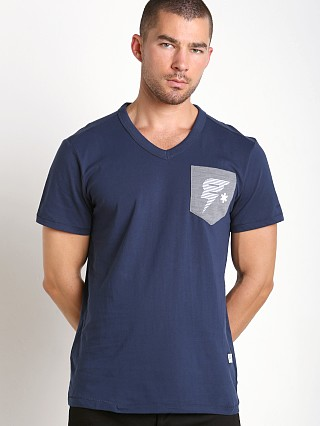 Complete the look: G-Star Skulon Compact Jersey V-Neck Shirt Sapphire Blue