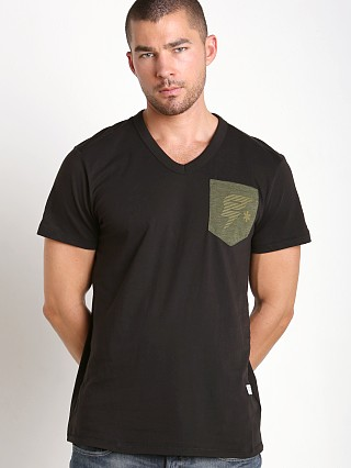 Complete the look: G-Star Skulon Compact Jersey V-Neck Shirt Black