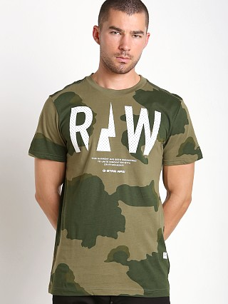 Complete the look: G-Star Rowack Desert Camo T-Shirt Sage