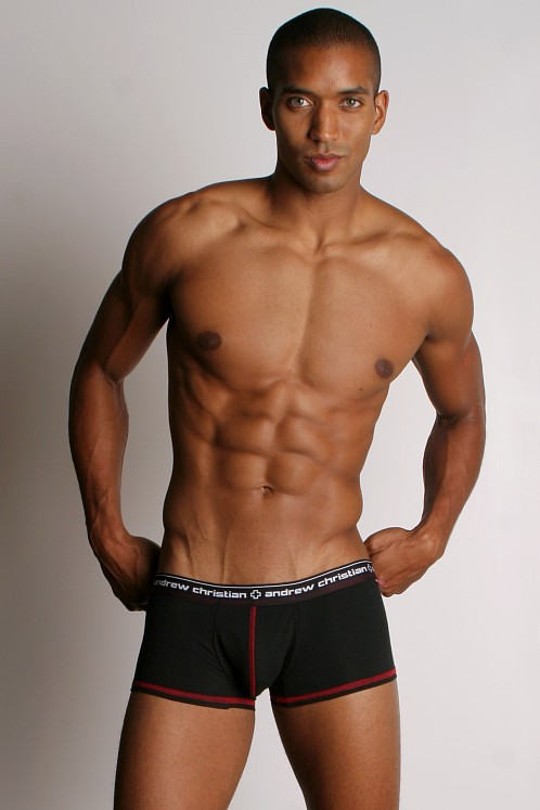 Andrew Christian Flashback Boxer Black
