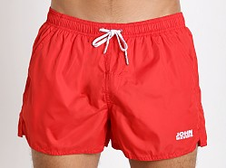 John Sievers Natural Pouch Swim Shorts Red