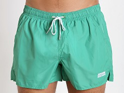 John Sievers Natural Pouch Swim Shorts Green