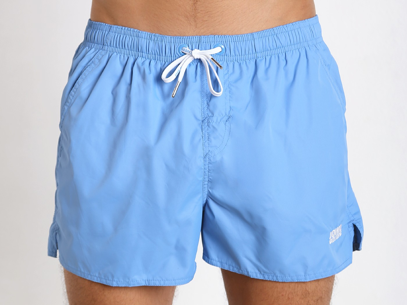 27c7284187c01 John Sievers Natural Pouch Swim Shorts Ice Blue 60460112-845 at  International Jock